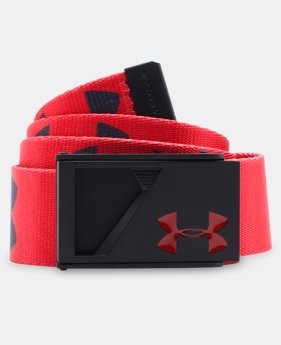 Boys' UA Range Webbed Belt LIMITED TIME: FREE SHIPPING 1 Color $22.99