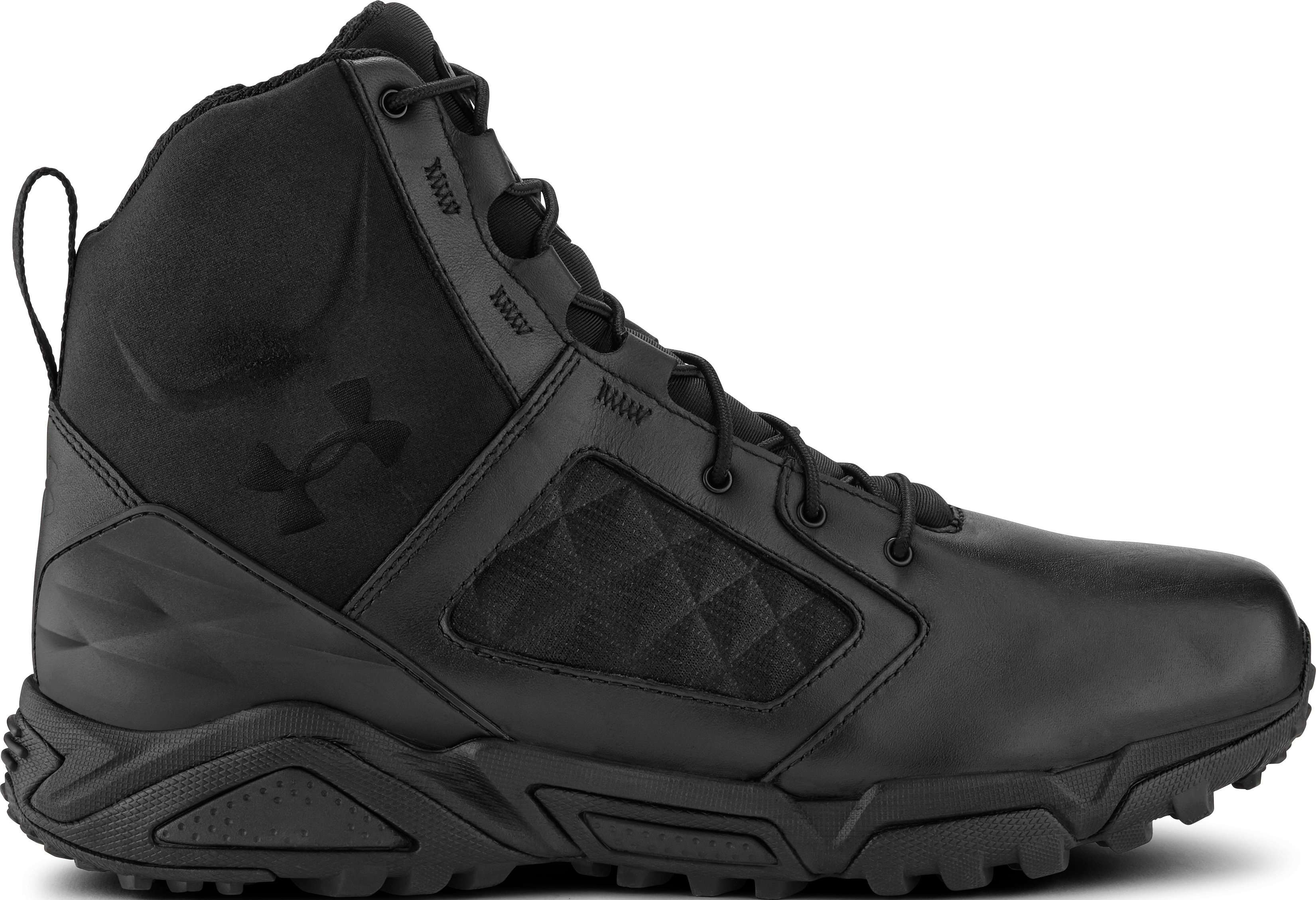 Men's UA TAC Zip 2.0 Boots, Black , zoomed image