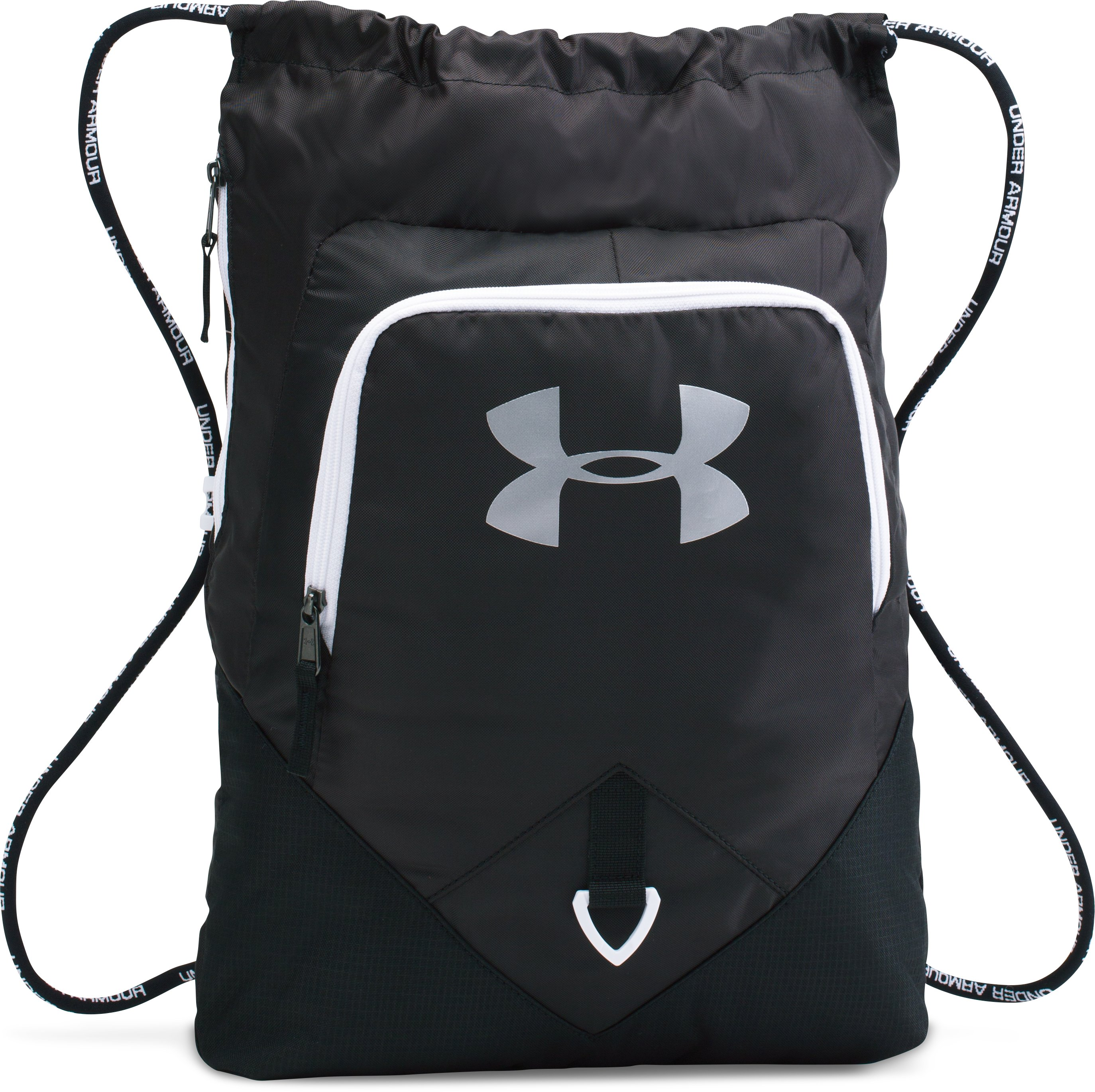 UA Undeniable Sackpack, Black ,