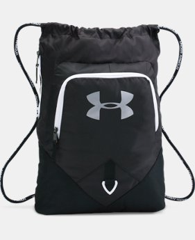 UA Undeniable Sackpack  10 Colors $29.99