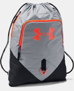 UA Undeniable Sackpack  9  Colors Available $29.99