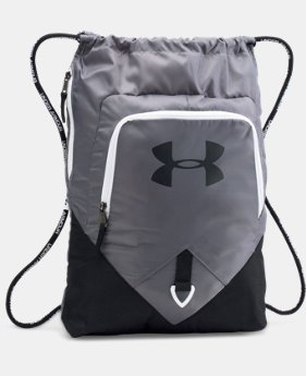 UA Undeniable Sackpack  5 Colors $29.99