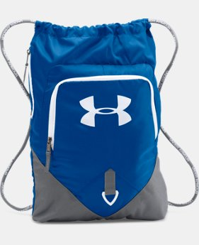 UA Undeniable Sackpack  4 Colors $29.99