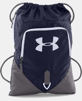 UA Undeniable Sackpack  4 Colors $24.99