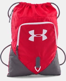 UA Undeniable Sackpack  15 Colors $24.99