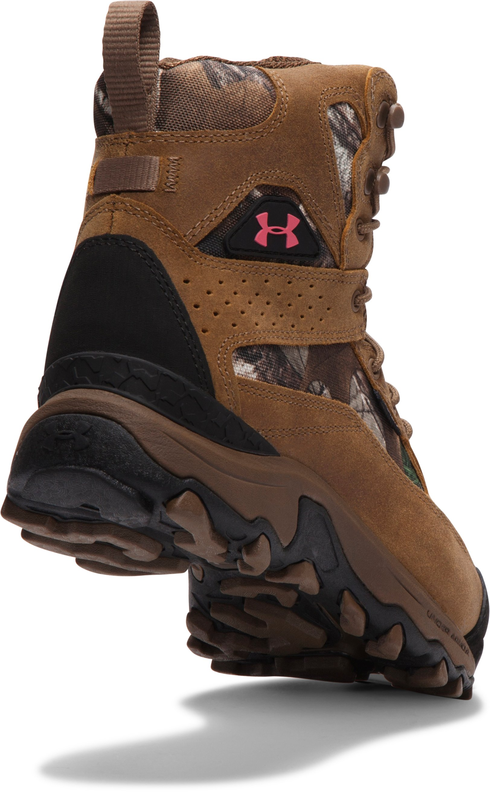 Women's UA Speed Freek Bozeman 600 Boots, REALTREE AP-XTRA