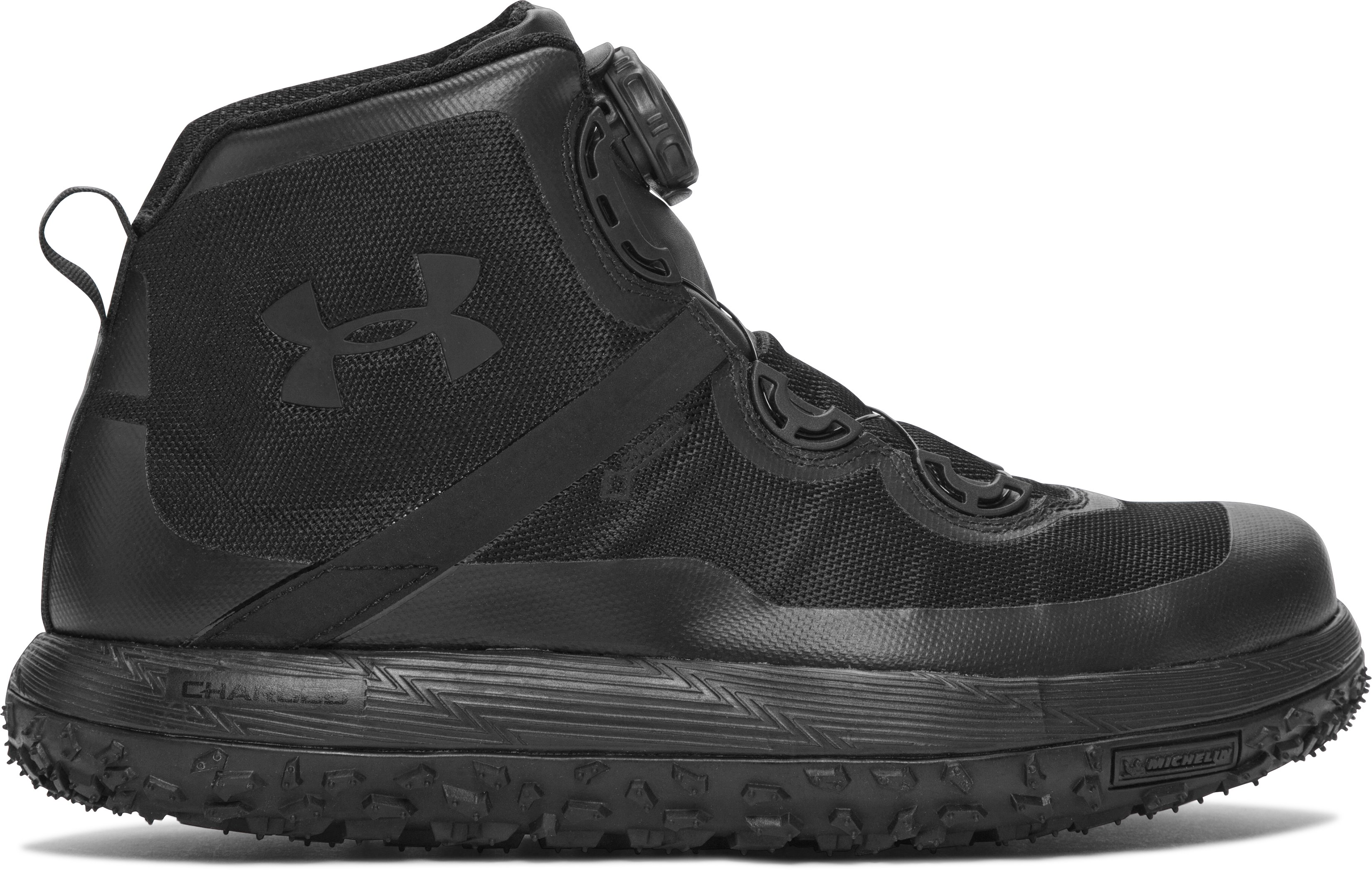 Men's UA Fat Tire GORE-TEX® Hiking Boots, Black ,
