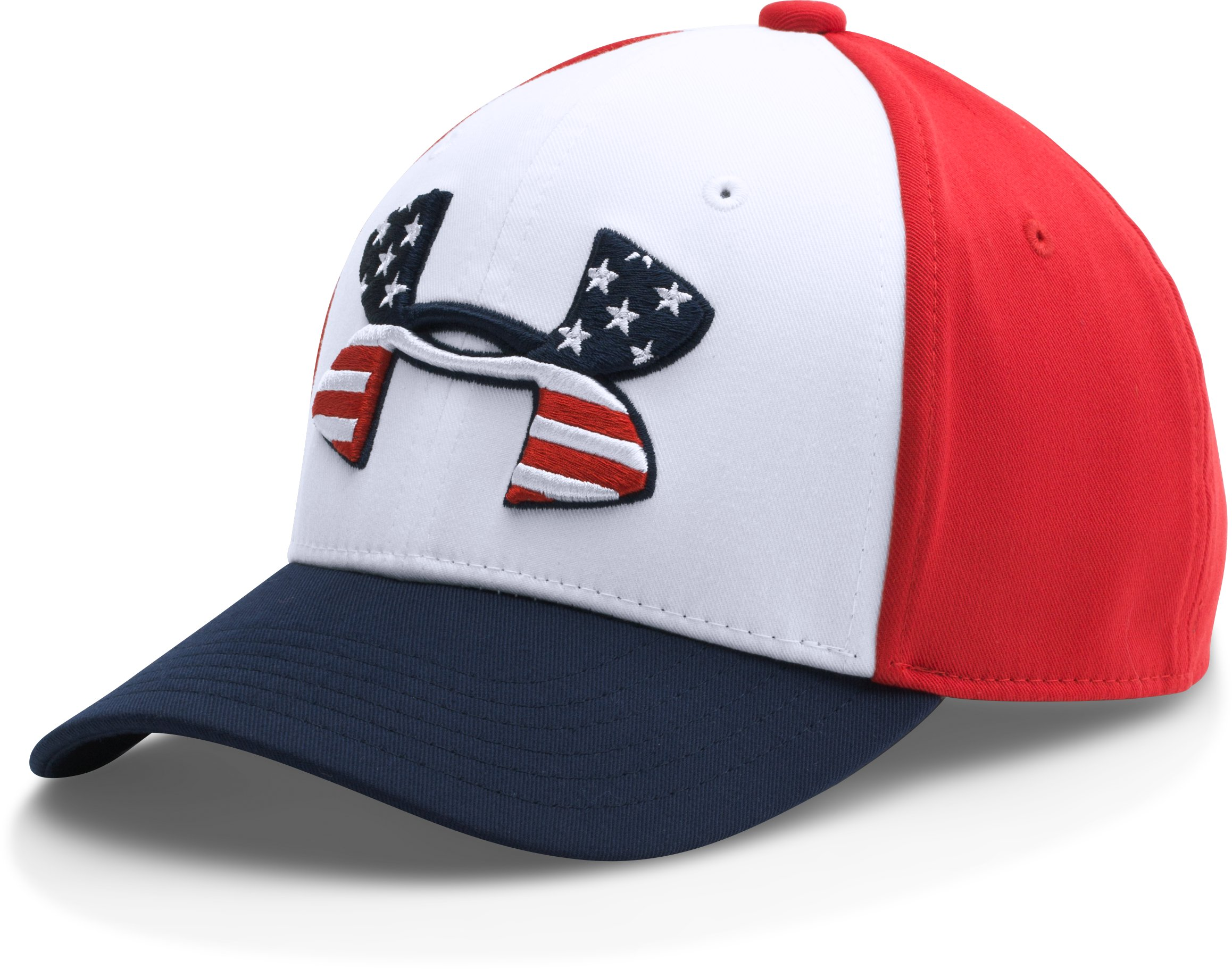 Boys' UA Country Series Cap, White, zoomed image