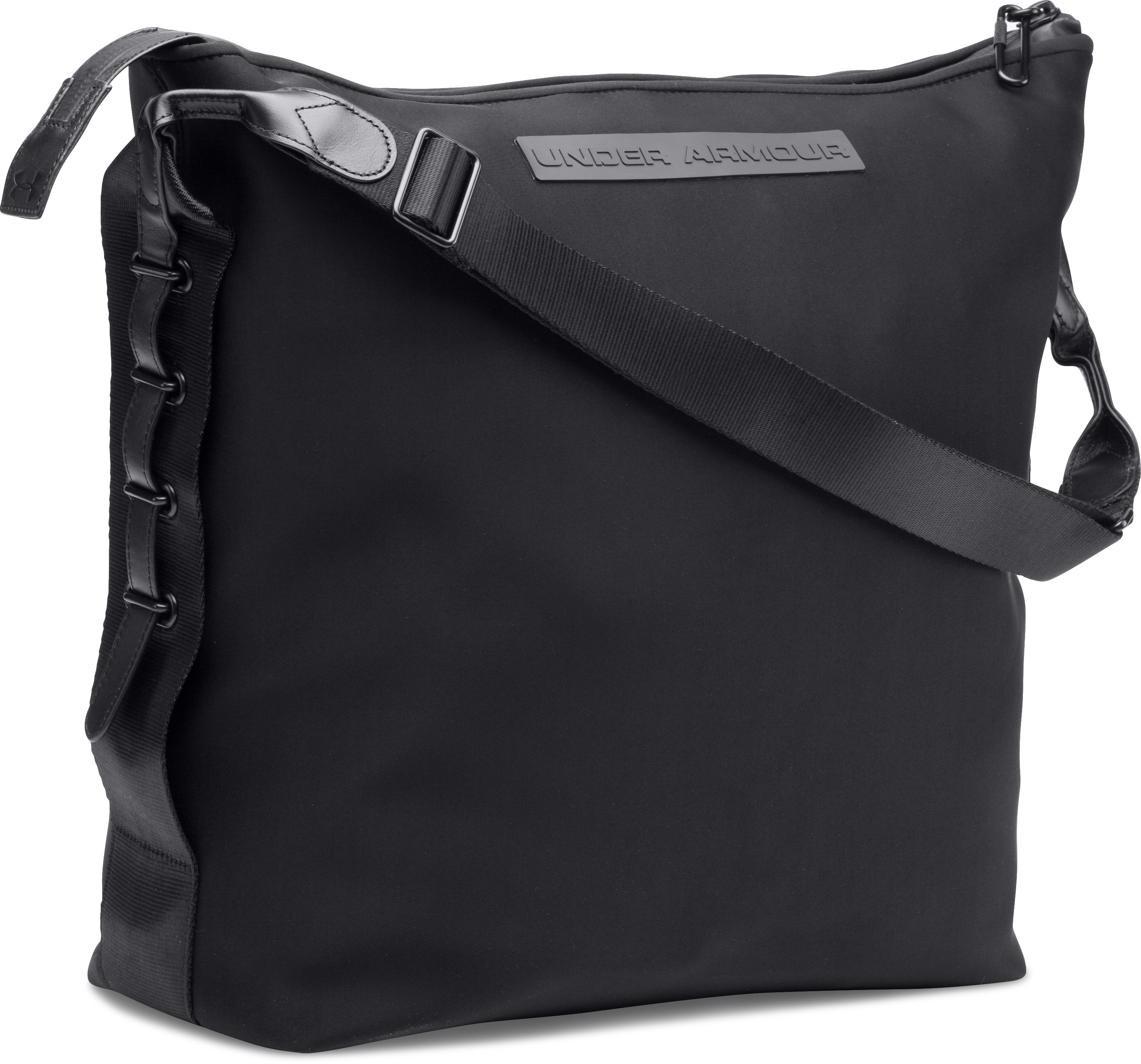 Women's UA Neoprene North South Tote, Black , zoomed image