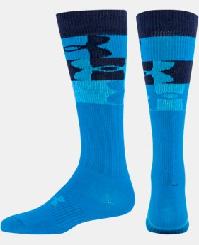 Girls' UA Big Logo 3.0 Over-The-Calf Socks