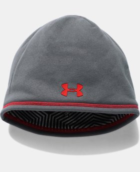 New Arrival  Men's UA Storm ColdGear® Infrared Elements 2.0 Beanie   4 Colors $34.99
