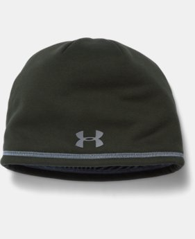 New Arrival  Men's UA Storm ColdGear® Infrared Elements 2.0 Beanie  LIMITED TIME: FREE SHIPPING 1 Color $34.99