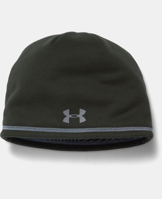 New Arrival Men's UA Storm ColdGear® Infrared Elements 2.0 Beanie  LIMITED TIME: FREE U.S. SHIPPING 3 Colors $29.99