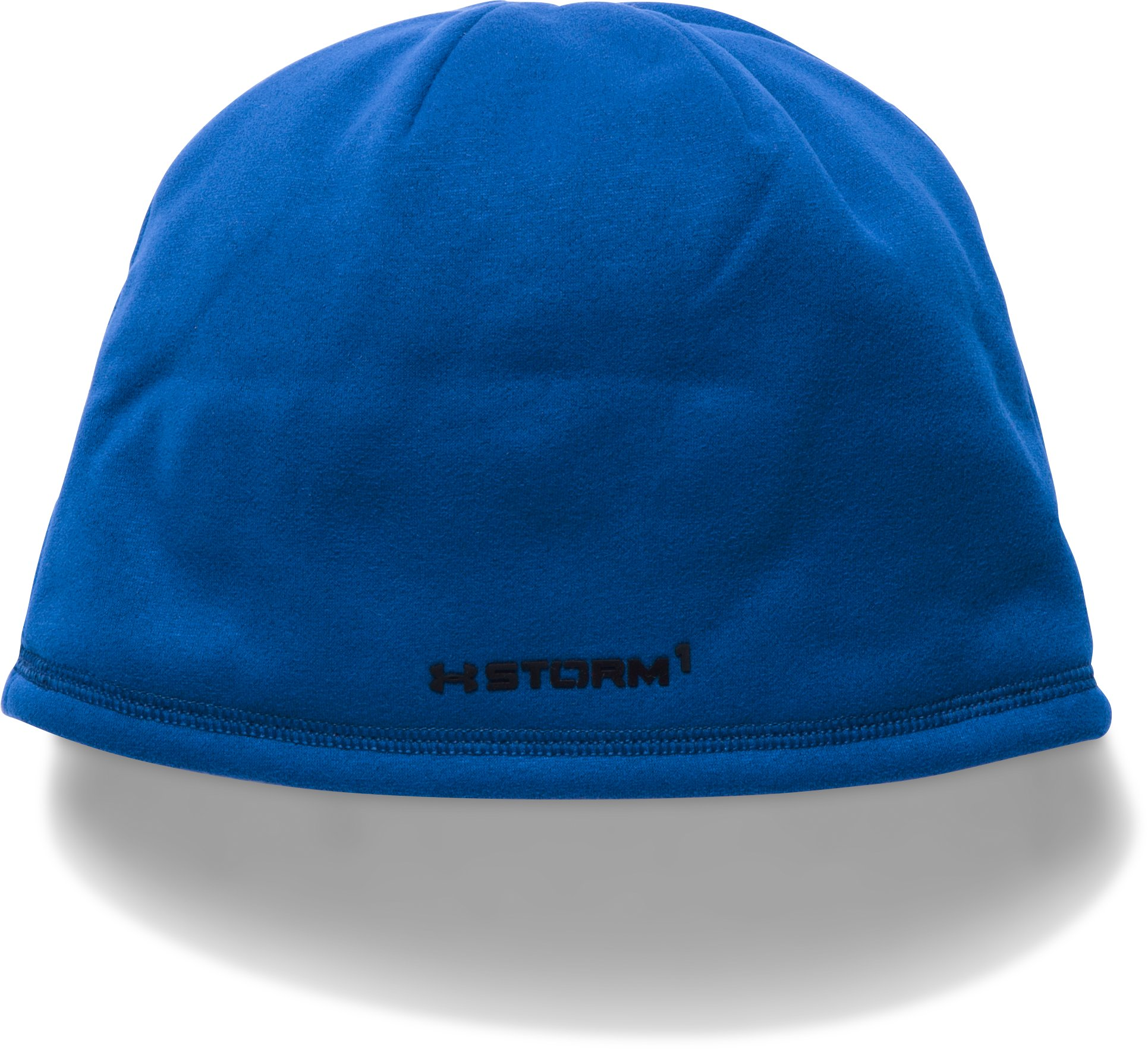 Men's UA Storm ColdGear® Infrared Beanie, Royal,