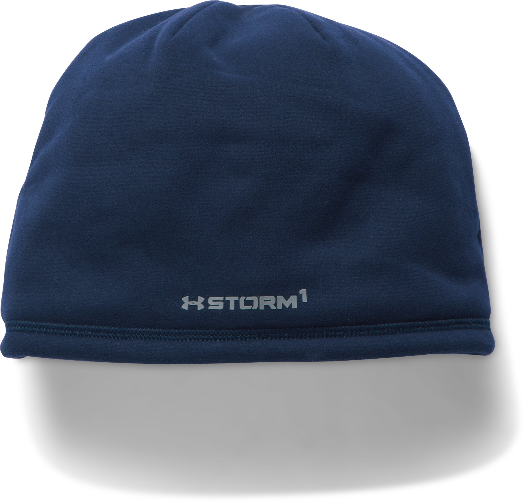 Men's UA Storm ColdGear® Infrared Beanie, Midnight Navy,