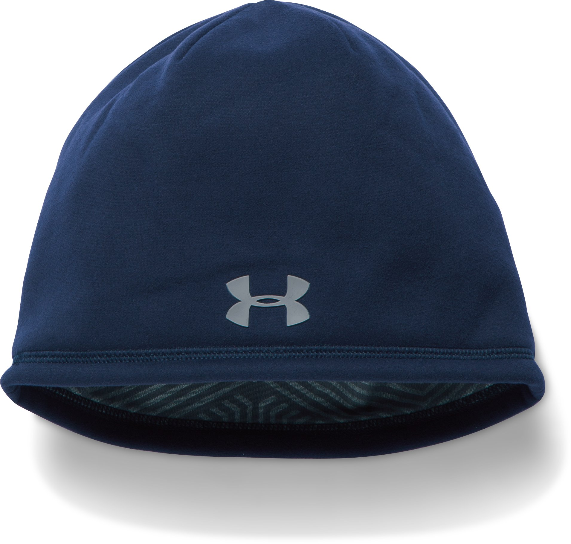 Men's UA Storm ColdGear® Infrared Beanie, Midnight Navy