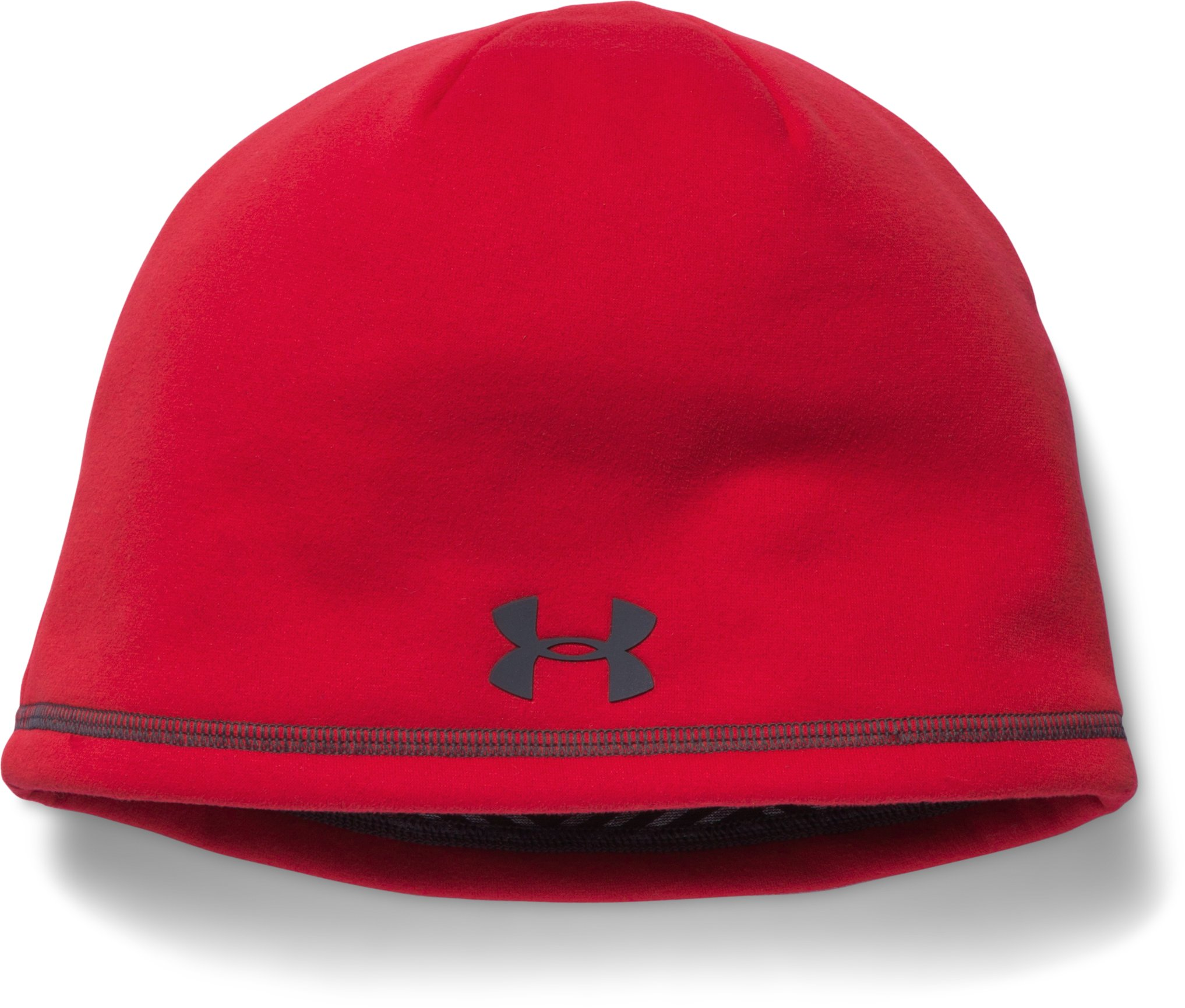 Men's UA Storm ColdGear® Infrared Beanie, Red, undefined