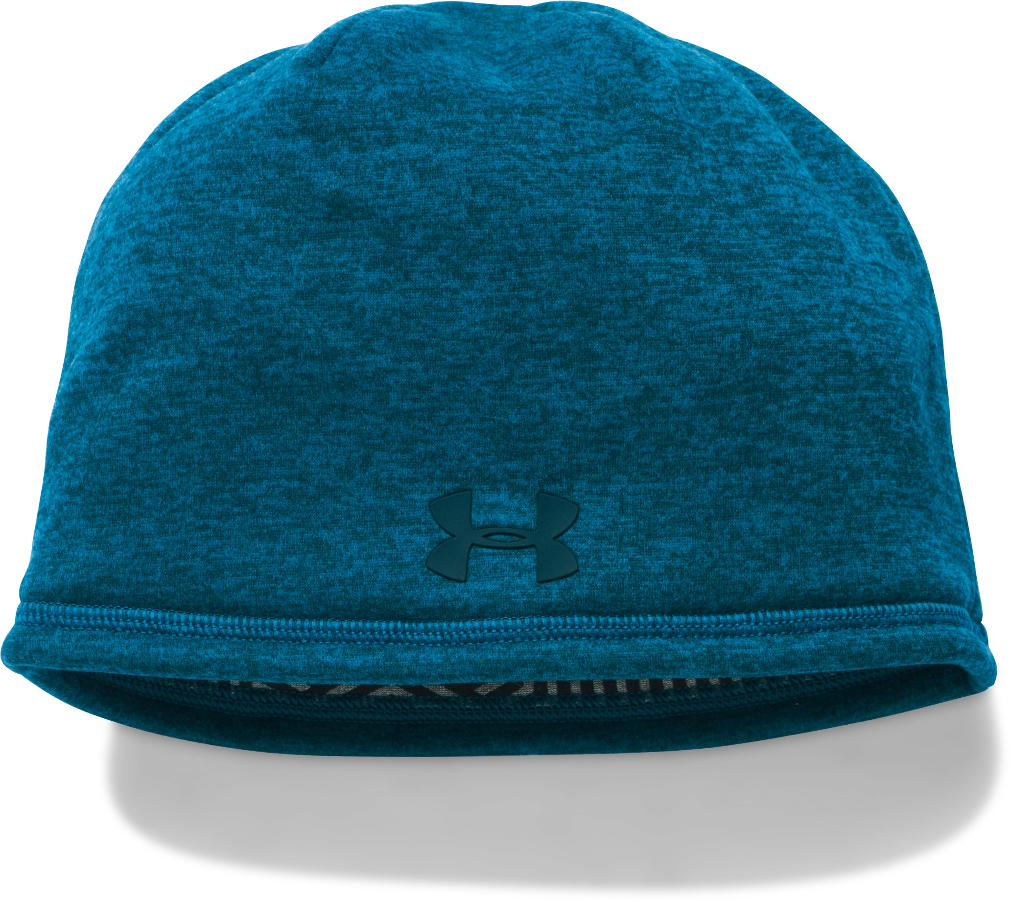 Men's UA Storm ColdGear® Infrared Elements 2.0 Beanie , PEACOCK, zoomed image