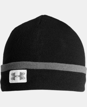New Arrival  Men's UA ColdGear® Infrared Cuff Sideline Beanie  2 Colors $31.99