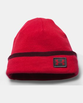 New Arrival  Men's UA ColdGear® Infrared Cuff Sideline Beanie  1 Color $31.99