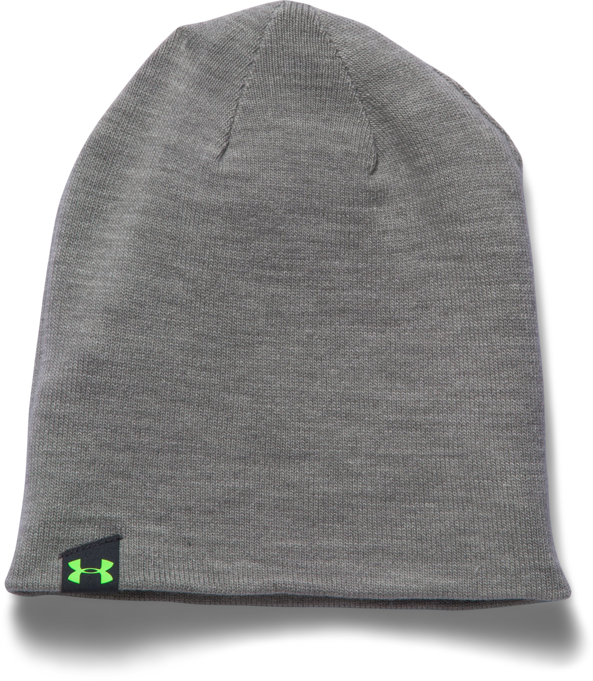 Men's UA 4-in-1 Beanie 2.0, STEALTH GRAY, undefined