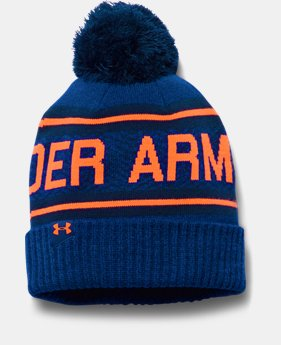 Men's UA Retro Pom 2.0 Beanie  2 Colors $31.99