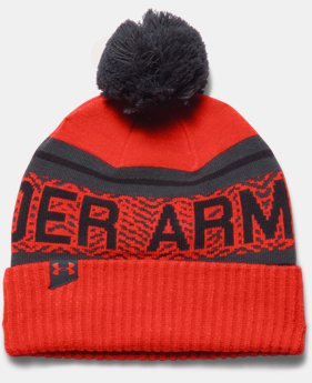 Men's UA Retro Pom 2.0 Beanie  1 Color $12.74 to $15.74