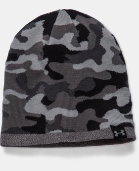 Men's UA 2-Way Camo Beanie  1 Color $20.99 to $26.99