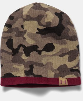 Men's UA 2-Way Camo Beanie  1 Color $34.99