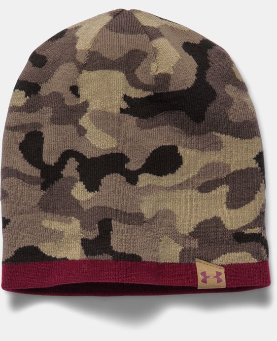 Men's UA 2-Way Camo Beanie LIMITED TIME: FREE U.S. SHIPPING 1 Color $13.49 to $17.24
