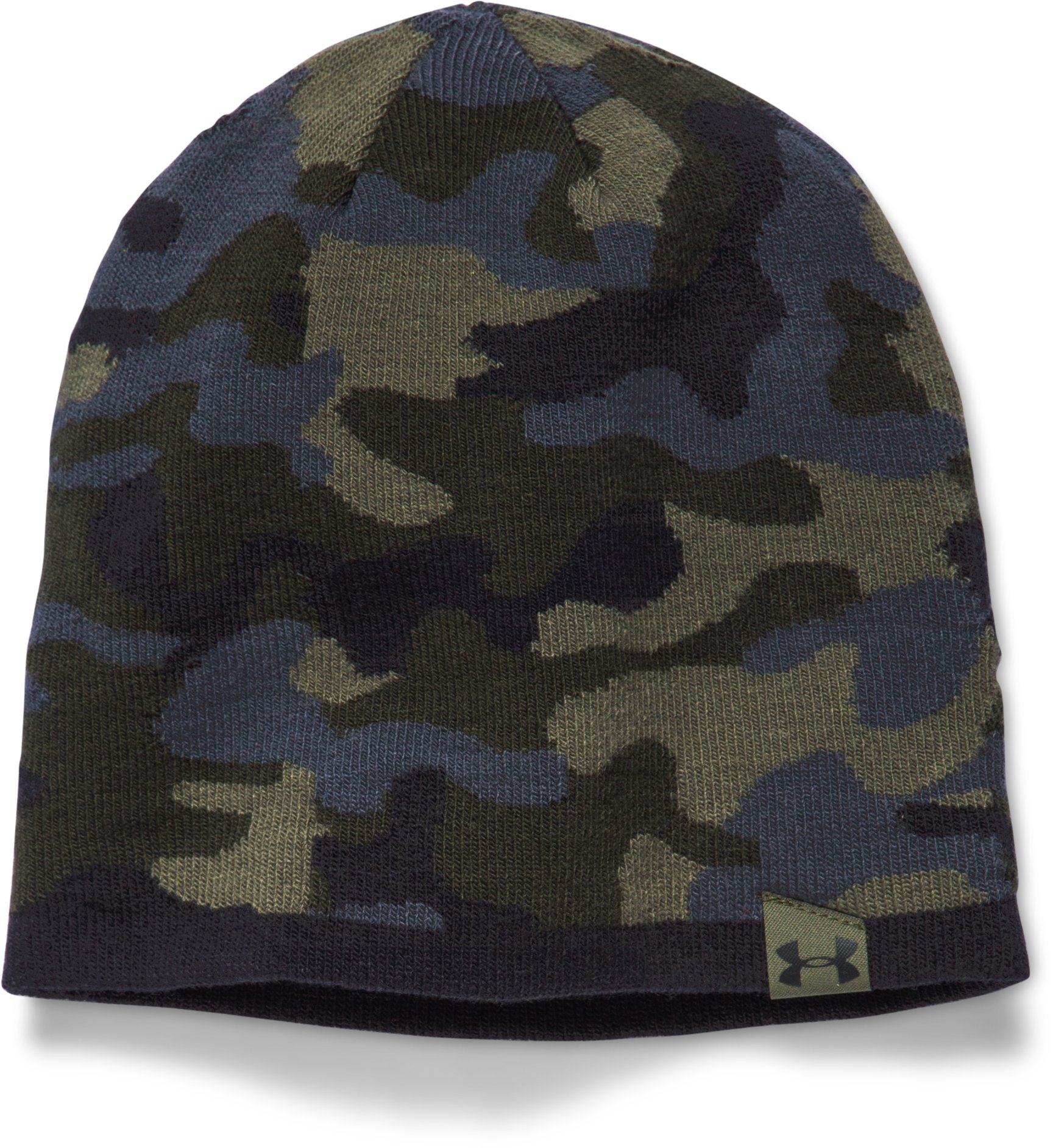 Men's UA 2-Way Camo Beanie, Rough