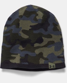 Men's UA 2-Way Camo Beanie  1 Color $20.99 to $34.99