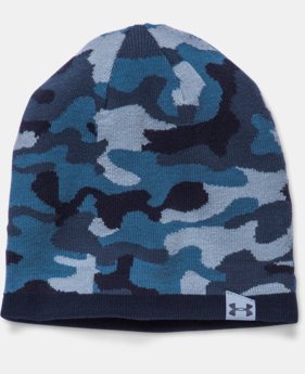 Men's UA 2-Way Camo Beanie  1 Color $17.99 to $22.99