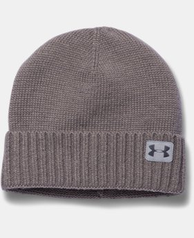 Men's UA Performance Wool Beanie  1 Color $23.99