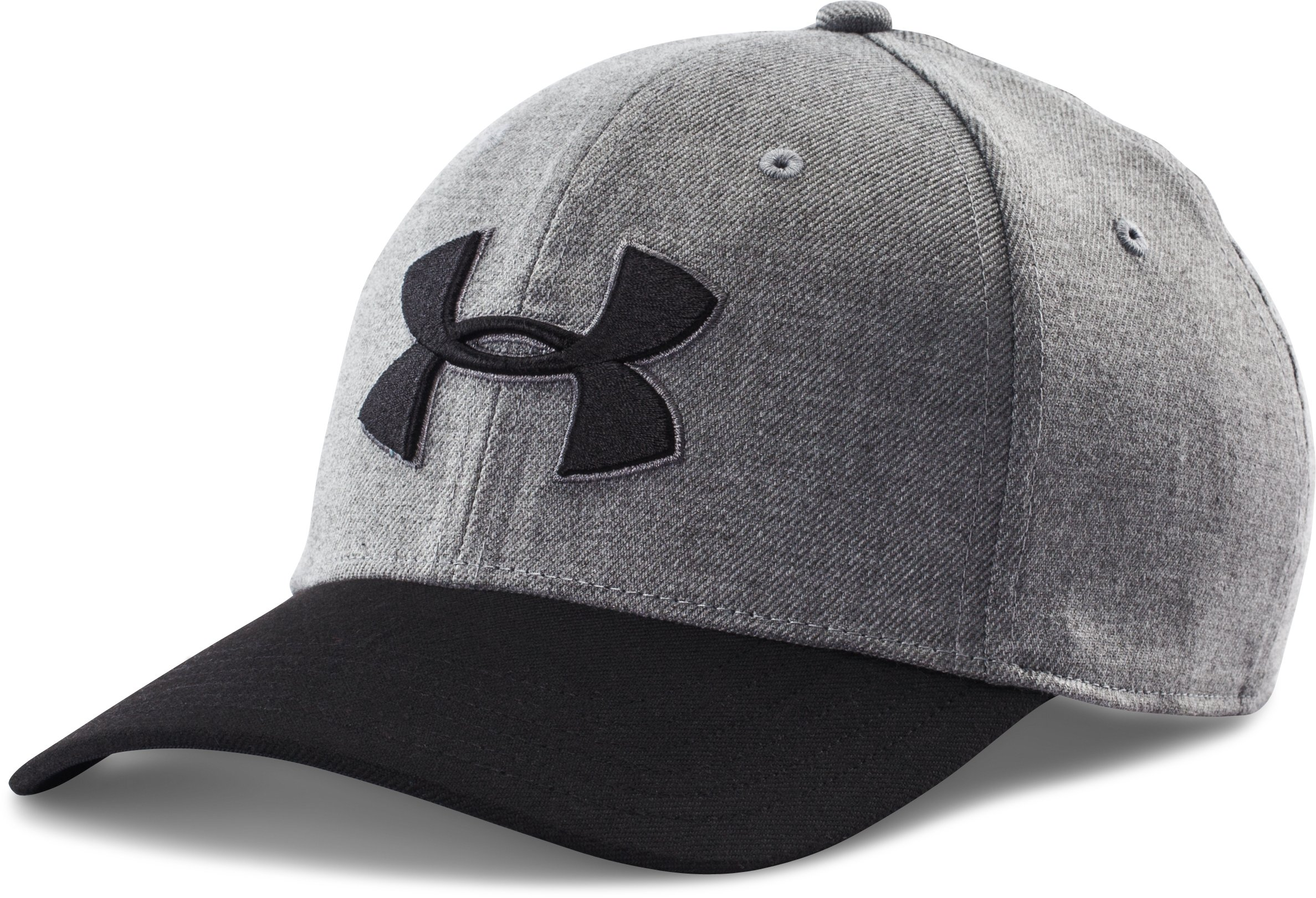 Men's UA Closer 2.0 Cap, True Gray Heather