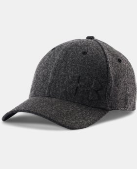 New Arrival  Men's UA Wool Low Crown Cap LIMITED TIME: FREE SHIPPING 1 Color $36.99