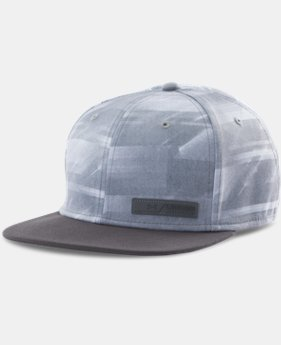 Men's UA Fader Flat Brim Stretch Fit Cap