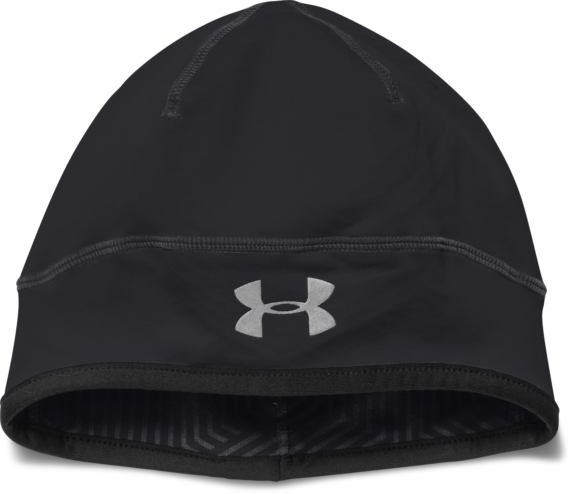 Men's UA ColdGear® Infrared Run Beanie, Black ,