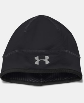 New Arrival  Men's UA ColdGear® Infrared Run Beanie LIMITED TIME: FREE SHIPPING 1 Color $34.99