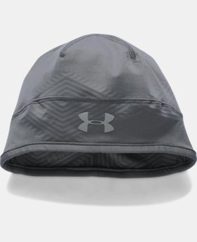 New Arrival Men's UA ColdGear® Infrared Run Beanie   $29.99