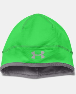 New to Outlet Men's UA ColdGear® Infrared Run Beanie  1 Color $17.24 to $22.99