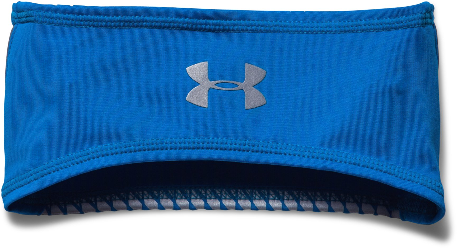 Men's UA ColdGear® Infrared Run Headband, BLUE JET