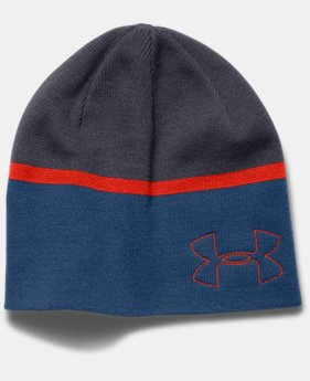 Men's UA Golf Blocked Beanie  1 Color $14.99 to $18.99
