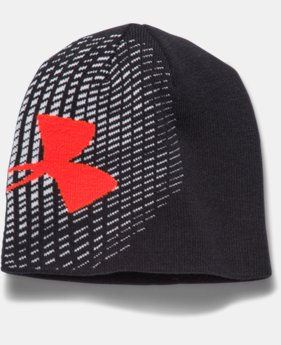 Boys' UA Billboard Glow-In-The-Dark Beanie  1 Color $13.99 to $21.99