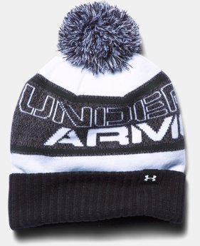 Boys' UA Pom Beanie LIMITED TIME: FREE SHIPPING 2 Colors $29.99