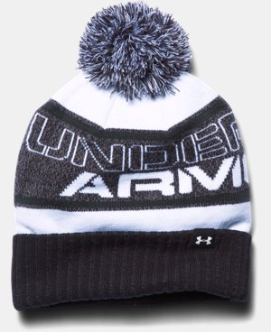 New Arrival  Boys' UA Pom Beanie  2 Colors $29.99