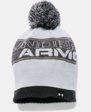New Arrival  Boys' UA Pom Beanie LIMITED TIME: FREE SHIPPING 1 Color $29.99