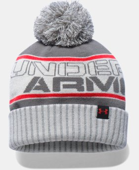 Boys' UA Pom Beanie LIMITED TIME: FREE U.S. SHIPPING  $24.99