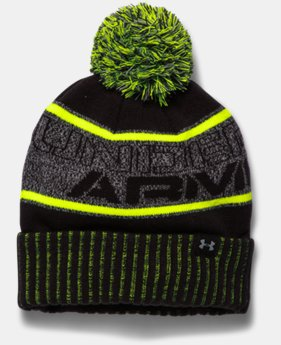 New to Outlet Boys' UA Pom Beanie   $18.99
