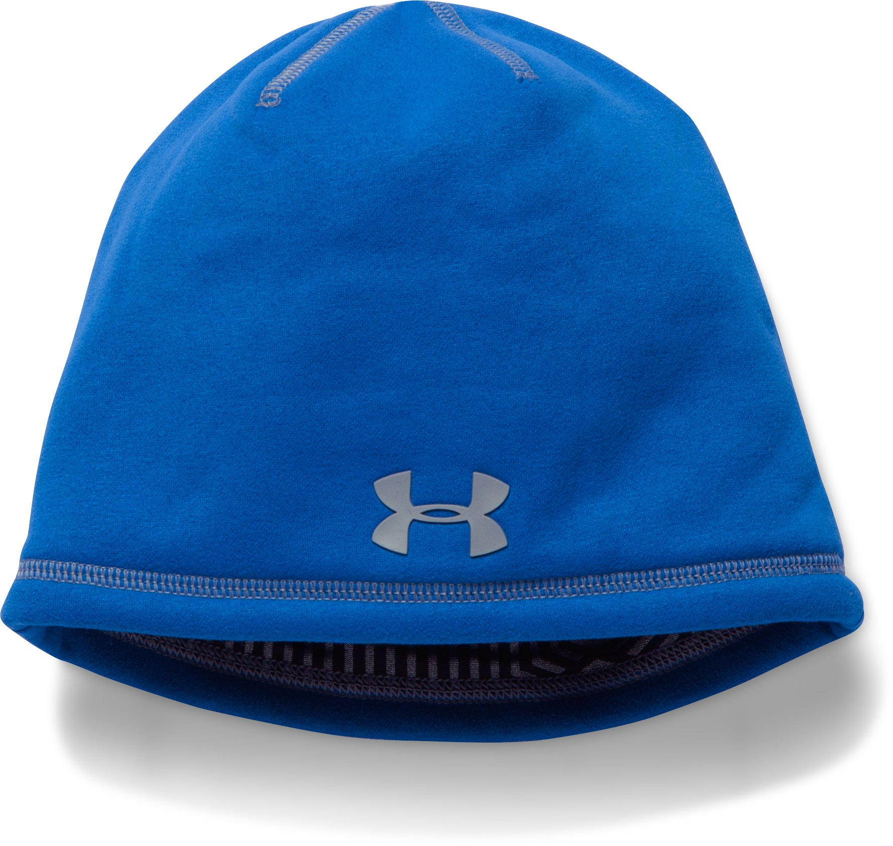 Boys' UA Storm ColdGear® Infrared Beanie, ULTRA BLUE, undefined